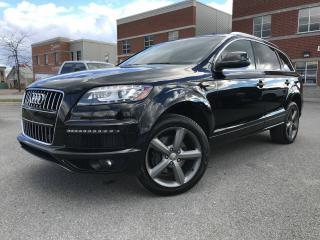 Used 2015 Audi Q7 TDI + AWD + CUIR + GPS S-LINE for sale in Laval, QC