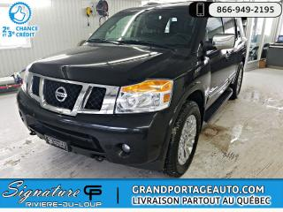 Used 2015 Nissan Armada PLATINUM + AWD ***Garantie 6/160,000 km* for sale in Rivière-Du-Loup, QC