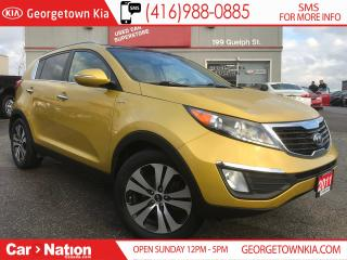 Used 2011 Kia Sportage EX LEATHER|PANO ROOF| B/U CAM| AWD| PUSH START for sale in Georgetown, ON