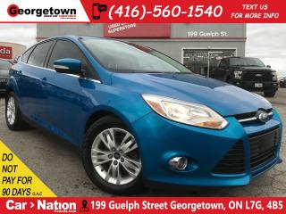 Used 2012 Ford Focus SEL | 5 SPD M/T | TINTS | CLEAN CARFAX for sale in Georgetown, ON