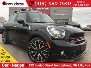 Used 2015 MINI Cooper Countryman John Cooper Works| NAVI | AWD |AUTO|LEATHER|ROOF for sale in Georgetown, ON