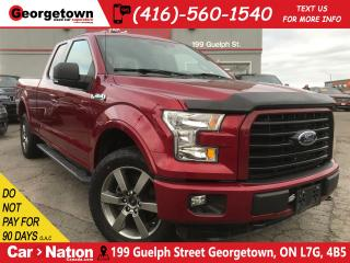 Used 2016 Ford F-150 NAVI| B/U CAM| GUN METAL RIMS| 4X4| V8 for sale in Georgetown, ON