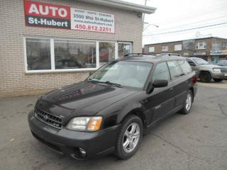 Used 2004 Subaru Outback AWD LIMITED for sale in St-Hubert, QC