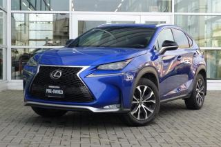 Used 2016 Lexus NX 200t 6A * F-Sport* for sale in Vancouver, BC