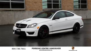 Used 2015 Mercedes-Benz C63 AMG Coupe for sale in Vancouver, BC