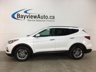 Used 2018 Hyundai Santa Fe Sport 2.4 SE - PANOROOF! HTD FRONT & REAR LTHR! REVERSE CAM! BLUETOOTH! BSA! RCTA! for sale in Belleville, ON