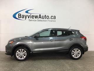 Used 2018 Nissan Qashqai SV - SUNROOF! REMOTE START! REVERSE CAM! BLUETOOTH! CTA! for sale in Belleville, ON