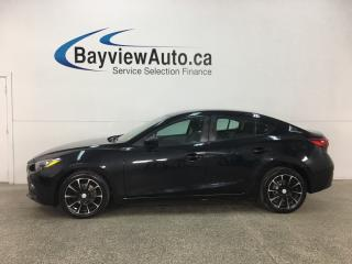 Used 2016 Mazda MAZDA3 GX - 6SPD! PUSH START! HTD SEATS! REVERSE CAM! BLUETOOTH! CRUISE! for sale in Belleville, ON