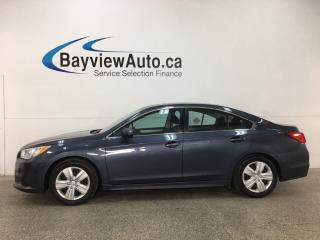 Used 2017 Subaru Legacy 2.5i - HTD SEATS! REVERSE CAM! SUBARU STARLINK! PADDLE SHIFTERS! for sale in Belleville, ON