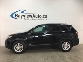Used 2015 Kia Sorento LX - ALLOYS! KEYLESS ENTRY! ROOF RACK! TINT! ECO MODE! HTD STS! BLUETOOTH! CRUISE! for sale in Belleville, ON
