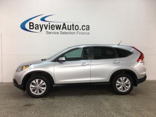 Used 2014 Honda CR-V EX - SUNROOF! HTD SEATS! BLUETOOTH! CRUISE! HITCH! for sale in Belleville, ON
