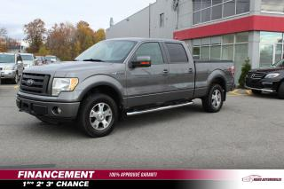 Used 2010 Ford F-150 Cab SuperCrew 4RM 145 po XLT for sale in Mascouche, QC