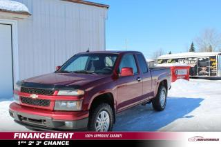 Used 2011 Chevrolet Colorado Cabine allongée 4 RM 125.9 po LT avec 1S for sale in St-Lin-Laurentides, QC
