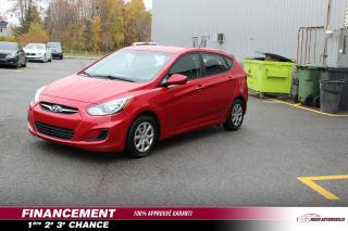 Used 2012 Hyundai Accent Voiture à hayon, 5 portes, boîte manuell for sale in Terrebonne, QC