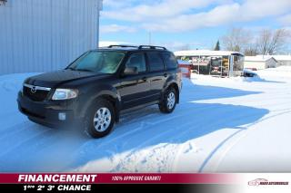 Used 2011 Mazda Tribute Traction intégrale,  cyl. en ligne, boît for sale in St-Lin-Laurentides, QC