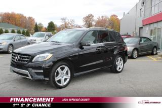 Used 2015 Mercedes-Benz ML 350 ML 350 BlueTEC 4 portes 4MATIC for sale in Mascouche, QC