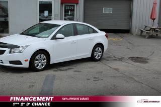 Used 2012 Chevrolet Cruze Berline LT turbo 4 portes avec 1SA for sale in Mascouche, QC