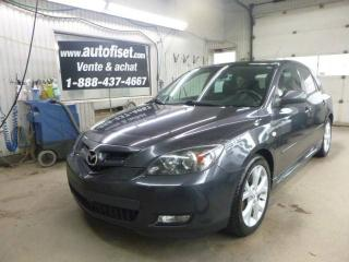 Used 2008 Mazda MAZDA3 SPORT GT for sale in St-Raymond, QC