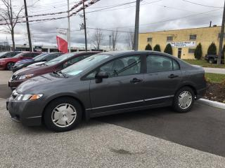 Used 2010 Honda Civic DX-G Sold Pending Customer Pick Up...One Owner, A/C and More! for sale in Waterloo, ON