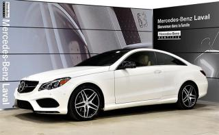 Used 2015 Mercedes-Benz E-Class E400 Awd Coupe Cuir for sale in Laval, QC