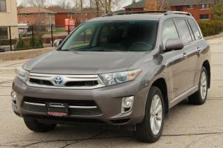 Used 2012 Toyota Highlander HYBRID Limited NAVI | Sunroof | CERTIFIED for sale in Waterloo, ON