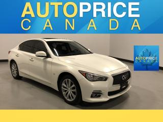 Used 2015 Infiniti Q50 NAVIGATION|REAR CAM|LEATHER for sale in Mississauga, ON