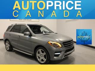 Used 2015 Mercedes-Benz ML-Class SPORT PKG NAVIGATION PANROOF for sale in Mississauga, ON