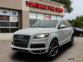 Used 2015 Audi Q7 3.0T Vorsprung Edition 7 Passengers. Panoramic. Navigation. Camera for sale in Toronto, ON