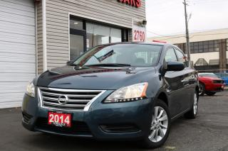 Used 2014 Nissan Sentra 1.8 SV Navigation. Reverse Camera. Bluetooth. NON RETAL for sale in Toronto, ON