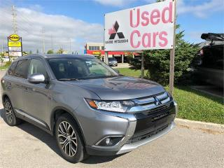 Used 2018 Mitsubishi Outlander GT for sale in Barrie, ON