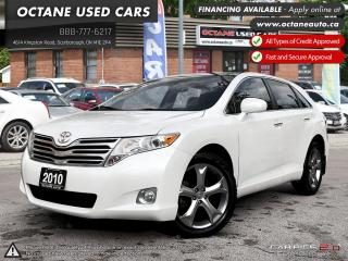 Used 2010 Toyota Venza V6 ACCIDENT FREE! GOOD PIRELLI TIRES! AWD! for sale in Scarborough, ON