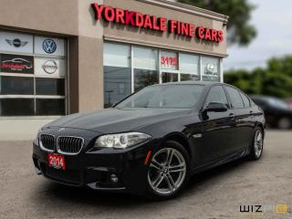 Used 2014 BMW 528 i xDrive M Sport. Navigation. 360 Camera. 46000 KLM for sale in Toronto, ON