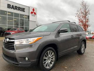 Used 2016 Toyota Highlander XLE for sale in Barrie, ON