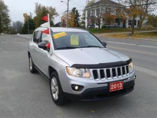 Used 2013 Jeep Compass 4X4 (Ronnie B's Bloomfield) WE Finance Sport for sale in Madoc, ON