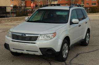 Used 2010 Subaru Forester 2.5 X Outdoor Package MANUAL | Heated Seats  | CERTIFIED for sale in Waterloo, ON