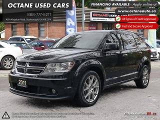 Used 2011 Dodge Journey R/T 7 PASSENGER SUV! BACK UP CAMERA! MINT!! for sale in Scarborough, ON
