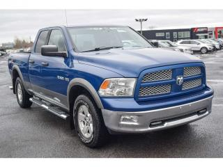 Used 2010 Dodge Ram 1500 Outdoorsman Quad 4x4 for sale in St-Hubert, QC