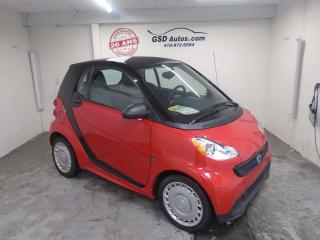 Used 2013 Smart fortwo PASSION for sale in Ancienne Lorette, QC