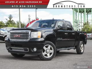Used 2011 GMC Sierra 2500 HD Denali DENALI DIESEL | 4X4 | NAV | REVERSE CAM | SUNROOF for sale in Stittsville, ON
