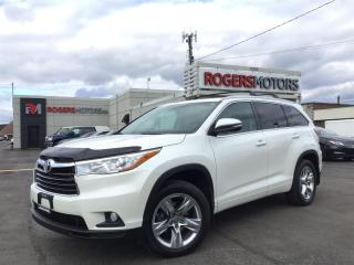 Used 2016 Toyota Highlander LTD AWD V6 - NAVI - 7 PASS - PANO ROOF for sale in Oakville, ON