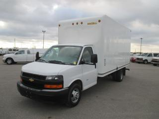 Used 2018 Chevrolet Express 3500 16 FT. UNICELL BODY for sale in London, ON