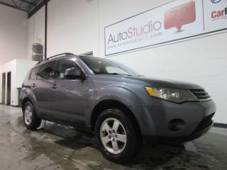 Used 2008 Mitsubishi Outlander ES **AWD**MAGS**CRUISE** for sale in Mirabel, QC