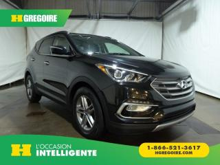 Used 2018 Hyundai Santa Fe SE AWD Cuir Toit for sale in St-Léonard, QC