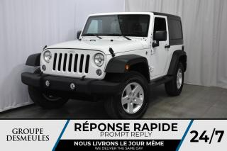 Used 2017 Jeep Wrangler * SPORT S * 4X4 * AUTOMATIQUE for sale in Laval, QC