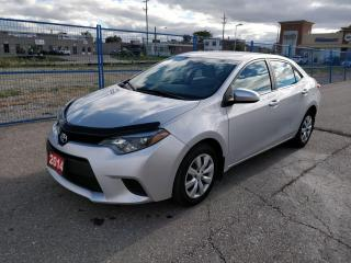 Used 2014 Toyota Corolla CE BLUETOOTH HEATED SEATS for sale in BRAMPTON, ON