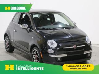 Used 2012 Fiat 500 LOUNGE CUIR TOIT for sale in St-Léonard, QC