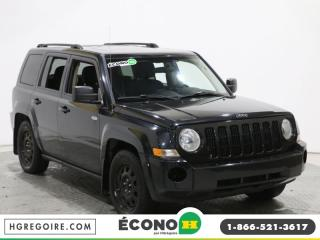 Used 2010 Jeep Patriot NORTH 4X4 AC GR for sale in St-Léonard, QC