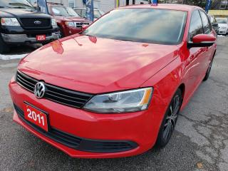 Used 2011 Volkswagen Jetta 143K / Leather / Manual 6Spd / Alloys / Mint Cond. for sale in Scarborough, ON