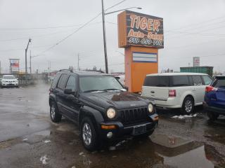 Used 2003 Jeep Liberty LIMITED**LEATHER**SUNROOF**ONLY 198KM**AS IS for sale in London, ON