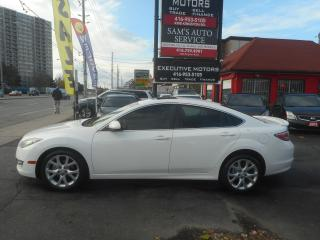 Used 2010 Mazda MAZDA6 GT / LOADED LEATHER / PUSH START/ HEATED SEATS / for sale in Scarborough, ON